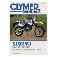 Clymer Manuals Service Manual Fits Suzuki Dr250-350 P/N M476