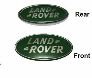 GREEN for Land Rover LR3 Discovery Freelander Grille/tail Gate Emblem Oval Badge