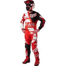 Taglia XL-28 Bimbo Completo Maglia Pantalone Fox 180 Mx Sayak Rosso Cross Youth