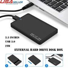 Black USB 3.0 SATA Hard Drive Enclosure HDD 2.5″ 2.5 inch External Laptop Case