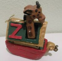 House of Hatten Two By Two Noah's Ark  Ornament Rare Retired 1994
