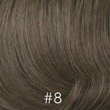 100% Human Hair Pull Thru Wiglet Filler Enhancer Top Piece Volume Intensifier
