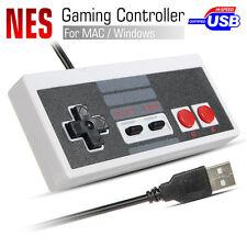 USB NES Famicom Mandos Clásico Controller Para PC Computer Mac laptop Windows