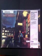 "RYKO DAVID BOWIE ""Ziggy Stardust"" LTD  EDITION  Clear Vinyl 1990 MINT SEALED"