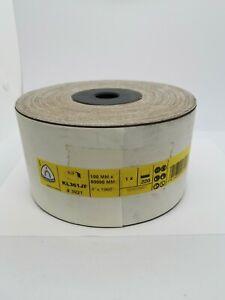 Klingspor 3921 KL361JF Sanding Paper Roll 100 x 50000 mm 220 grit