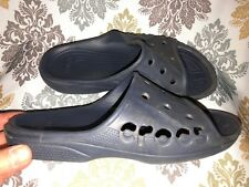 CROCS Baya Slide Sandals Women's 9 ~ Men's 7 NAVY Unisex Comfort