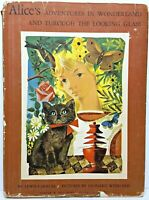 ALICE IN WONDERLAND First Edition THROUGH THE LOOKING GLASS Alice's Adventures