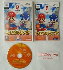 MARIO AND SONIC AT THE OLYMPIC GAMES (Wii)=>20 Super Events! 4 Player=NEAR MINT✔