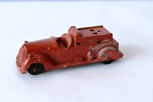 """Vintage Toby Toy Breakdown Truck Metal Masters Diecast truck England Red Rare""""F1"""