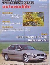 NEUF Revue technique OPEL OMEGA B 2.5 TD RTA 623 1999 RENAULT 19 ESSENCE 94/96