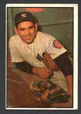Yogi Berra 1953 Bowman Color Baseball #121 New York Yankees Good
