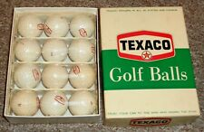 New listing NEW Vintage advertising TEXACO MOTOR OIL golf balls Very Nice Take a LOOK !!!!!!