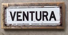 Ventura County Ventucky California Freeway Vintage Surf C Street Sign Home Decor