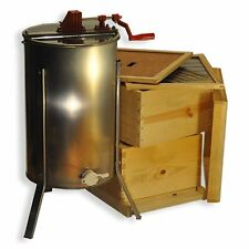 Double Deep Brood Box Beginners Beehive Kit 2 Frame Honey Extractor - Gle2Stack