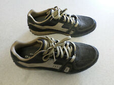Skechers black and tan suede slip resistant, relaxed fit shoes. Men's 13