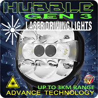 LASER LED DRIVING LIGHT TWIN GEN 3 LASER MODULES 9 INCH HUBBLE UP TO 3OOOM AU X1