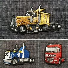 SEMI TRAILER Prime Mover Truck High Quality 100/% Embroidered Patch Badge Iron-On