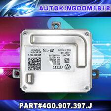 For Audi VW LED Headlight DRL Front Light MODULE CONTROL COMPUTER 4G0.907.397.J