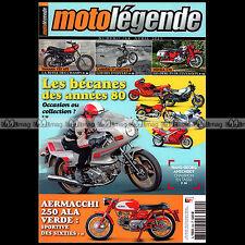 MOTO LEGENDE N°244-b YAMAHA 125 AT2 HONDA C72 AERMACCHI ZUNDAPP 175 250 ELASTIC