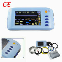 Handheld Vital SignS Patient Monitor 6-parameter ECG NIBP TEMP SPO2 PR Cardiac
