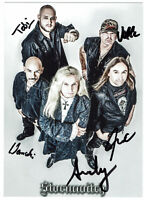 Stormwitch Heavy Metal hand signed Autograph Autogramm  Autogrammkarte