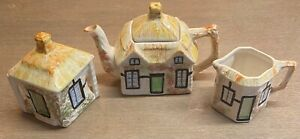 Cute Vintage Price Kensington Cottage Ware - 3 Piece Tea Set - Highly Sought Aft