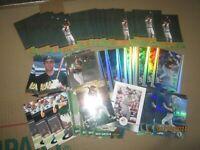 Huge Lot of 50 Ben Grieve Baseball Cards Athletics