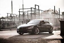 schwarze Nieren hochglänzend 6er BMW F13 Coupe Frontgrill salberk 1006DL