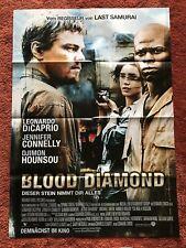 Blood Diamond Kinoplakat Poster A1, Leonardo DiCaprio, Jennifer Connely