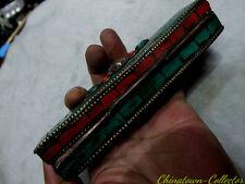 Tibetan Buddhist Artifact  Phurpa sceptre Vajra Dorje Phurba Healing Wand #3356
