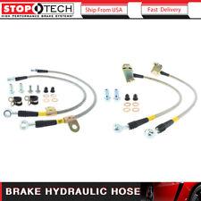 Stoptech 4pcs Brake Hydraulic Hose Front & Rear Brake Line Fits 2005-2013 300