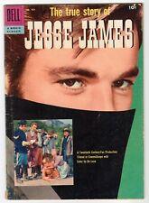 Dell - Four Color #757 True Story Of Jesse James - G 1957 Vintage Comic