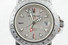 Mont Blanc Sport Gmt 7061 Masterpiece Automatic Steel RAR Men's Watch 43MM