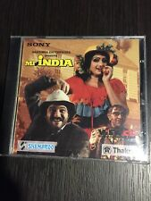 Mr India SONY View CD Video Compact Disc Laxmikant-Pyarelal New Sealed 3 Discs