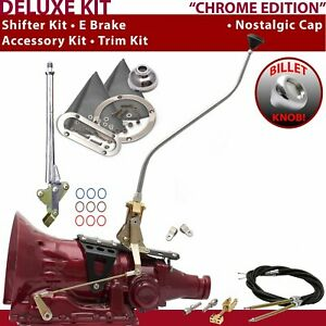C4 Shifter Kit 23 Swan E Brake Cable Clevis Trim Kit For F56CF