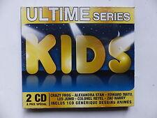 CD Album s/s Ultime series Kids  Crazy frog .. + Dessins animés BO Goldorak ..
