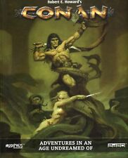Modiphius: Conan RPG Adventures in an Age Undreamed of Book HC New -BN