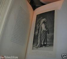 """Charles-Roux """"Autour de l'Histoire"""" rel.Cuir 1/298 sur Hollande Chromotypie 1910"""