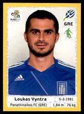 Panini Euro 2012 (Swiss Platinum Edition) Loukas Vyntra (Greece) No. 88