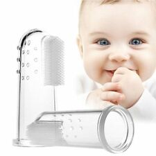 Oral Care Silicone Brush Baby Finger Toothbrush Baby Toothbrush Teeth Cleaning
