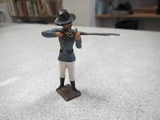 CBG HOMME AVEC UN FUSIL CARABINE CHASSE CHASSEUR lead toy soldier hunting (2) *