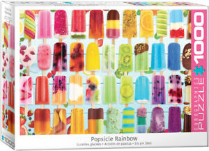 Popsicle Rainbow 1000 Piece Puzzle by Eurographics