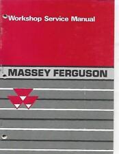Massey Ferguson Mf Compact Tractors Mf 205210 And 220 Workshop Service Manual