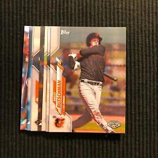 2020 TOPPS PRO DEBUT BALTIMORE ORIOLES TEAM SET 8 CARDS  ADLEY RUTSCHMAN +