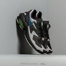 Nike Air Max2 Light OG Thunderstorm Black Grey UK 10 US 11 Force 1 90 95 OG 97