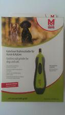 Moser Krallenschleifer/Krallenfeile Kabellos für Hunde und Katzen