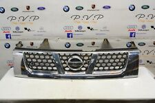 NISSAN NAVARA D22 2.5L 2003 FRONT ENGINE GRILL PLASTIC CHROME COVER WITH BADGE
