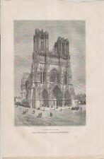 Cathédrale de Reims.