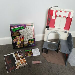 RARE Nickelodeon Ninja Turtles Pop Up Pizza Playset Anchovy Alley - New/Opened