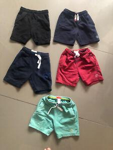 Boys Next jersey shorts bundle age 5-6 VGC **6 pairs**